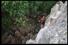 Rock Climbing Photo: fun sport just alittle stiff for the rating