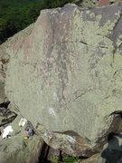 Rock Climbing Photo: Slab of Doom.
