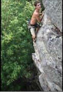 Rock Climbing Photo: last few moves