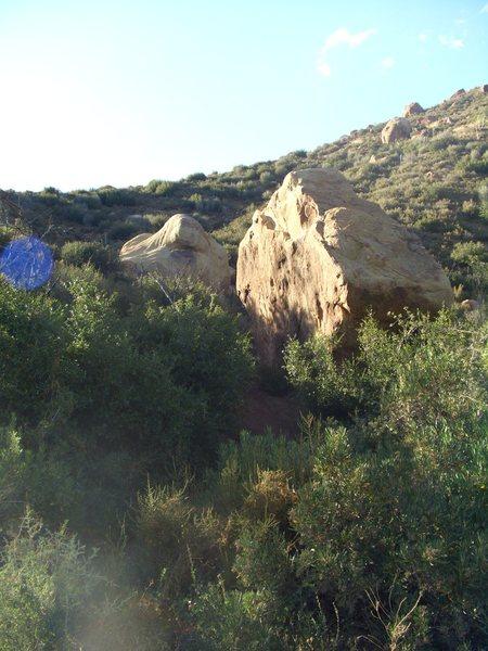 Munson Boulders, Hwy 33.