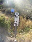 Rock Climbing Photo: Mile marker 33.62, Munson Boulders, Hwy 33.