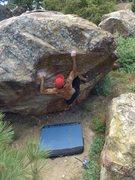 Rock Climbing Photo: Davi Rivas on Losing My Marbles, Enlightenment Rid...