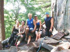 Rock Climbing Photo: At Devils Lake, July 2011