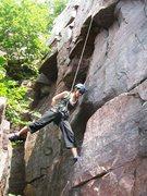 Rock Climbing Photo: Interesting stem move