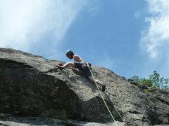 Rock Climbing Photo: across the universe - 2nd pitch