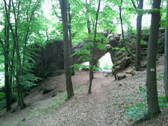 Rock Climbing Photo: The gateway to Hohler Fels and the Gmabrocken.