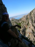 Rock Climbing Photo:  Half way up Anica Kuk Paklencia Croatia
