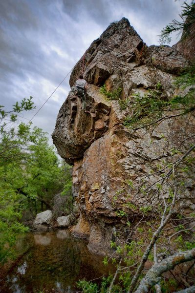 Rock Climbing Photo: The Meadows Wichita Mts OK