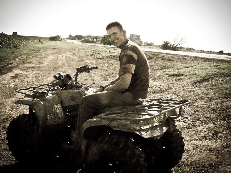 4wheelin at the Red River