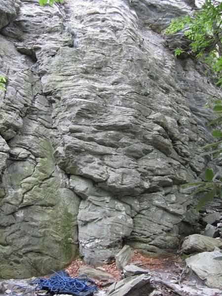 Rock Climbing Photo: Start of Easy Hard