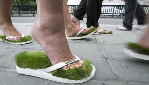 Proper footwear!