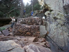 Rock Climbing Photo: Gabions.