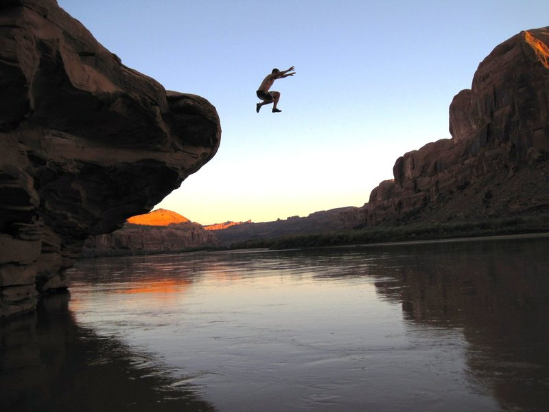 Rock Climbing Photo: splash