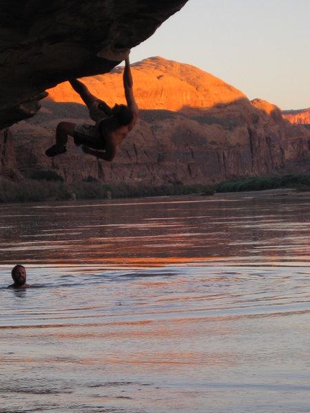 Rock Climbing Photo: bivering