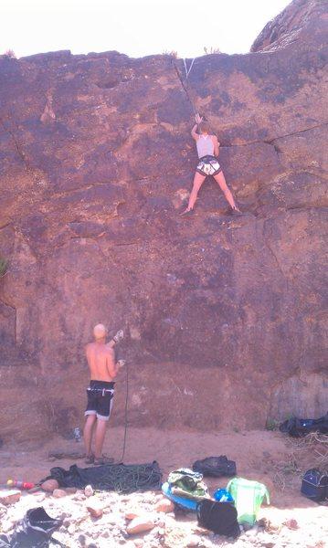 Rock Climbing Photo: Quicksand