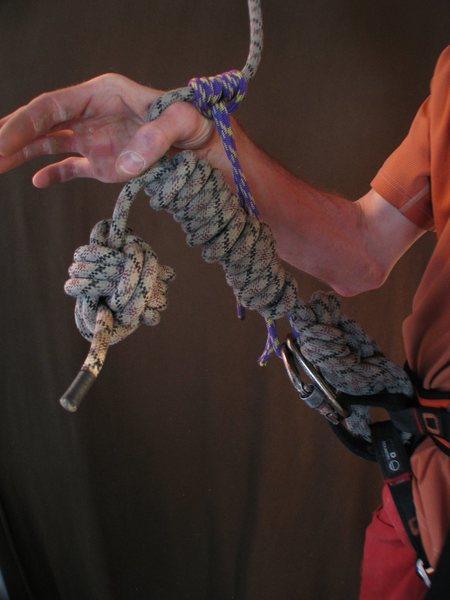 Rock Climbing Photo: Sooooper 8™®  knot