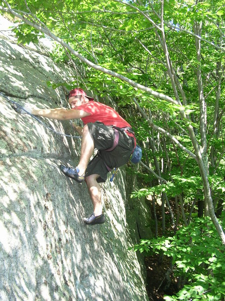 Rock Climbing Photo: Another fun Mt Molly rounded top-out.
