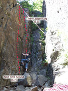 Rock Climbing Photo: Repo 1 routes