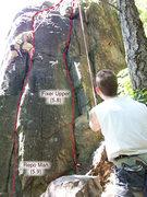 Rock Climbing Photo: Repo II - Right routes