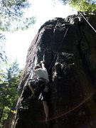 Rock Climbing Photo: Repo Man, Repo II - Right routes