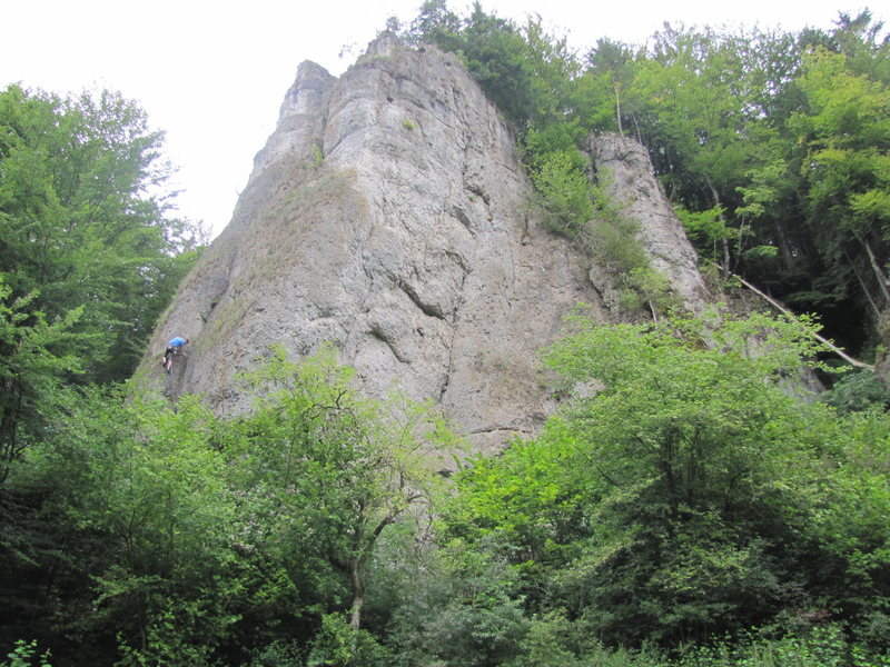 Rock Climbing Photo: Roter Fels 1