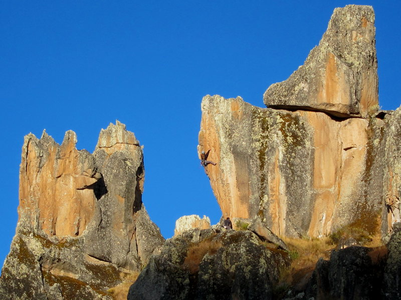 Rock Climbing Photo: A short .12a.