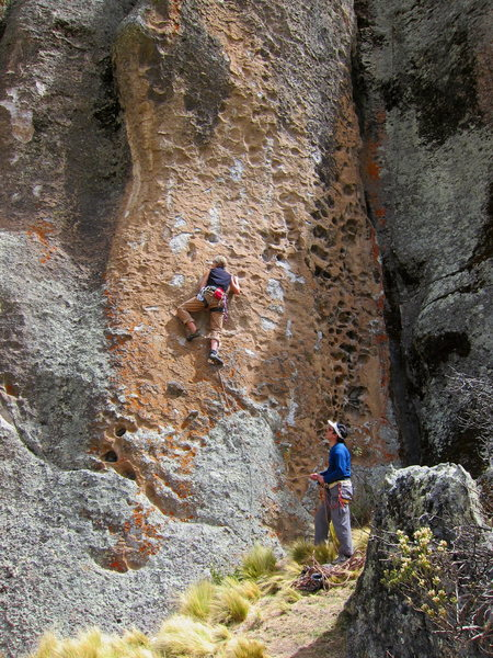Lily and Claudio on Buenos Aires, .11b,  at Sector Tirol del Sur.
