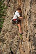 Rock Climbing Photo: Nat don't wobble. July 2011.