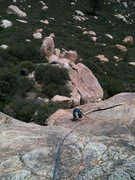 Rock Climbing Photo: DE on April Showers