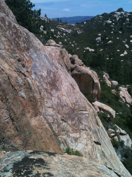 Rock Climbing Photo: 5.6 sport climb on far east side of El Nino, Corte...