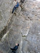 Rock Climbing Photo: Never climb in minnesota when the sun is going dow...