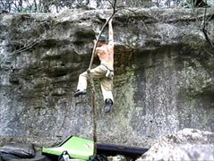 Rock Climbing Photo: fun problem