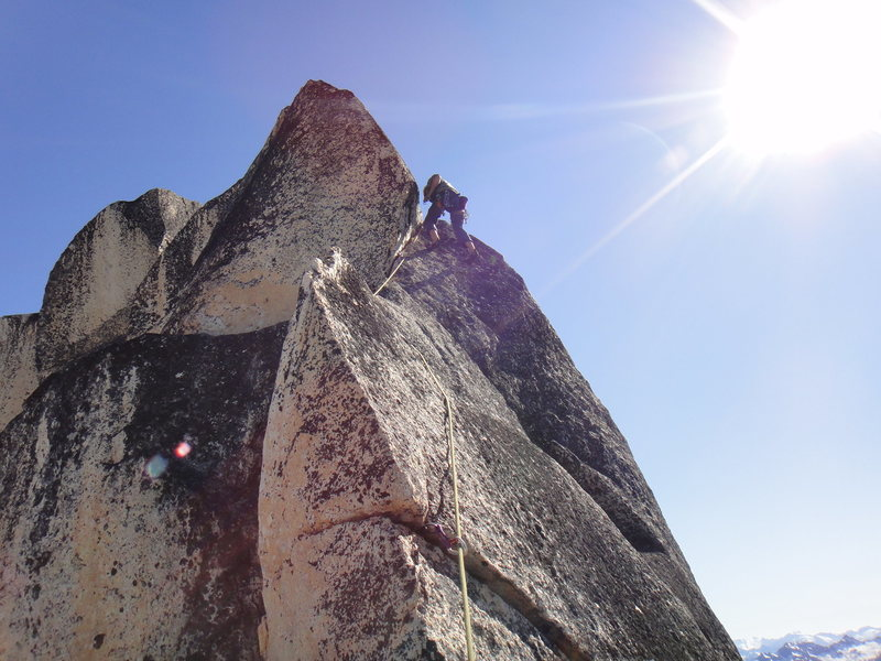 Rock Climbing Photo: left side handcrack