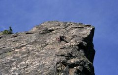 Rock Climbing Photo: Leading Salt Packed Pigs
