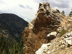 Rock Climbing Photo: From Left to Right - Mount Up, Stripped Nut, The B...