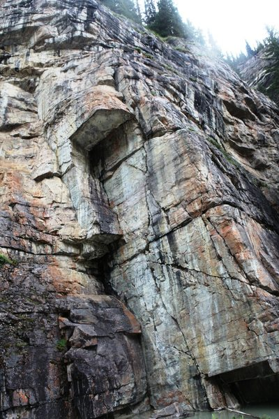 Rock Climbing Photo: The Pond - Center