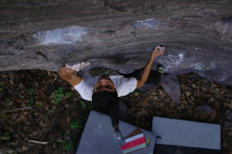 Rock Climbing Photo: One I found of RV from Spring 10.