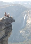 Rock Climbing Photo: Great view from the top of Glacier Point