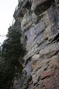 Rock Climbing Photo: A climber completing the arete taken by the upper ...