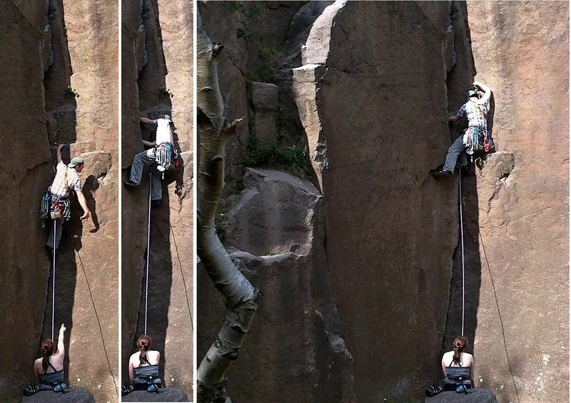 the crux on Great harry