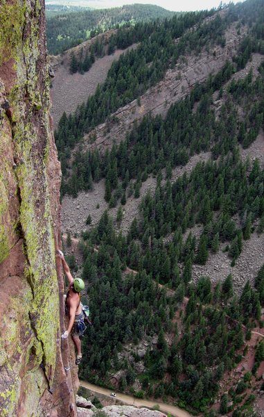 Rock Climbing Photo: The long, beautiful arete.