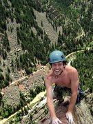 Rock Climbing Photo: And lovin' it!