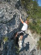 Rock Climbing Photo: Judge Pulling the Bulge.