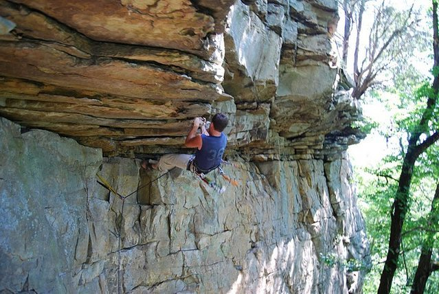 Rock Climbing Photo: You can double protect crux with .75 BD cam and #1...