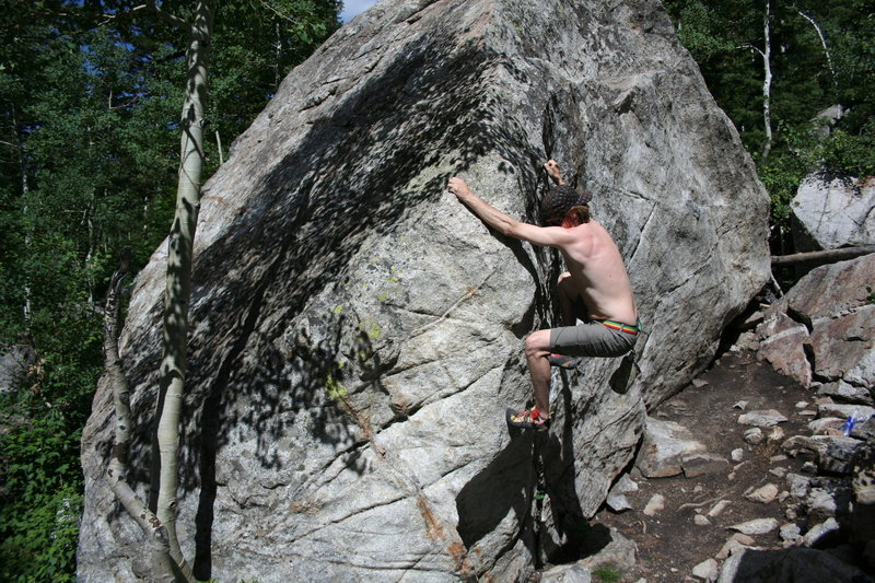 Rock Climbing Photo: white pine LCC