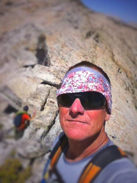 Rock Climbing Photo: me on matthes crest