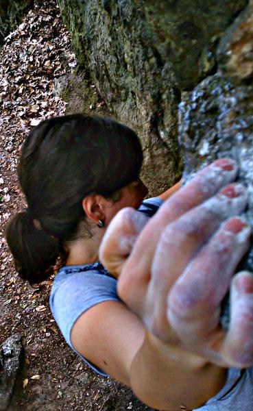 Rock Climbing Photo: Laddins Traverse
