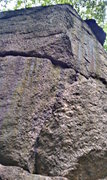 Rock Climbing Photo: Arete left side start of climb