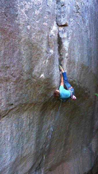 Rock Climbing Photo: Siebe Vanhee on Cobra Crack