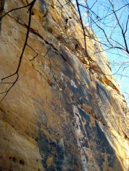 Rock Climbing Photo: Future bolt line